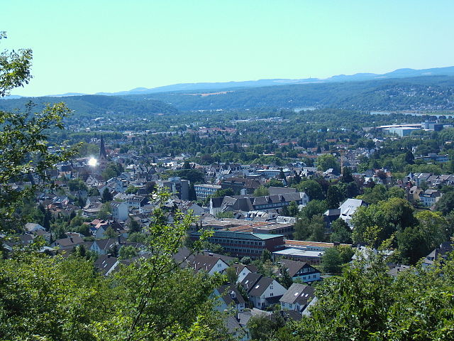 Picture of Bad_Honnef (By Leit (Own work) [Public domain], via Wikimedia Commons)